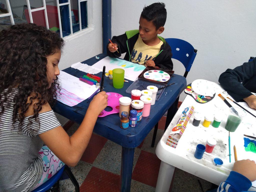 Talleres de dibujo y cursos de pintura
